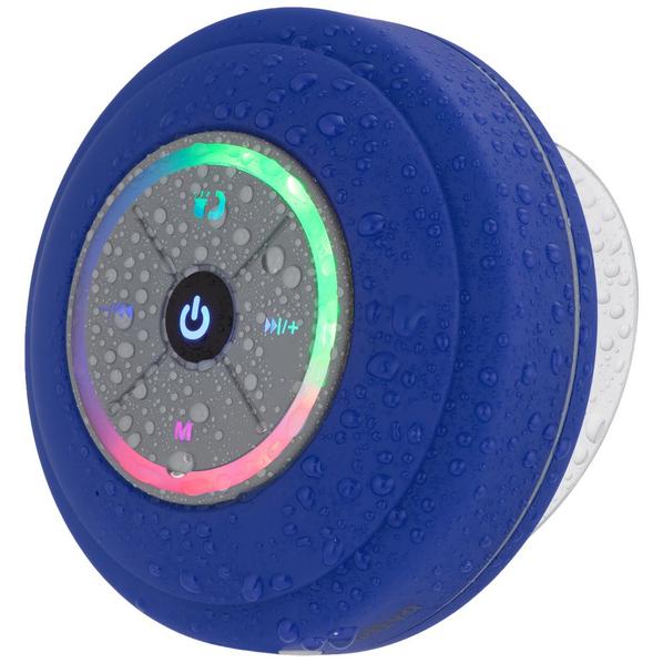 Колонка беспроводная Indivo stuckSpeaker 2.0, синяя - фото № 1