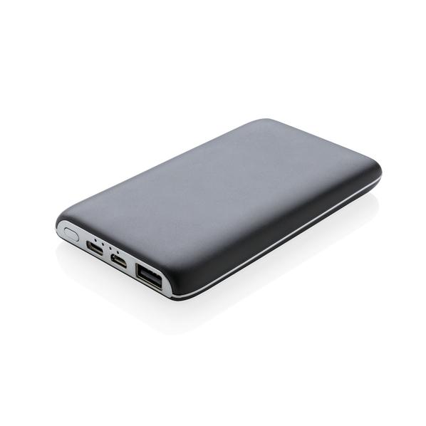 Внешний аккумулятор беспроводной XD Collection, 4000 mAh, вакумные присоски, черный - фото № 1