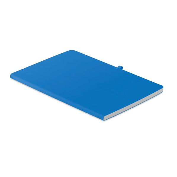 Блокнот А5 в мягкой обложке, синий - фото № 1