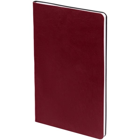 Блокнот нелинованный Контекст Blank А5, бордовый - фото № 1