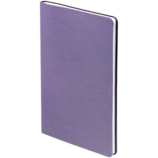 Блокнот нелинованный Контекст Blank А5, фиолетовый - фото № 1