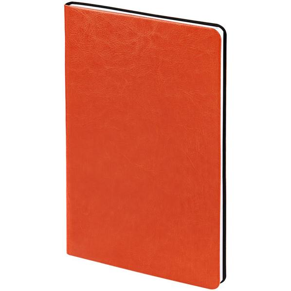 Блокнот нелинованный Контекст Blank А5, оранжевый - фото № 1