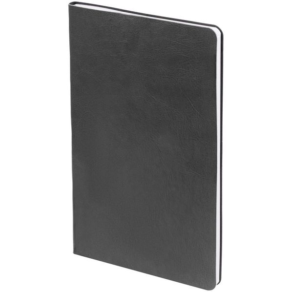 Блокнот нелинованный Контекст Blank А5, серебристый - фото № 1