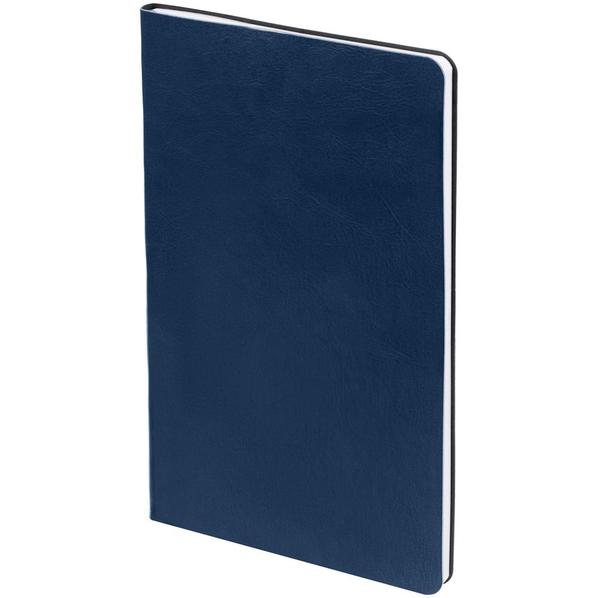 Блокнот нелинованный Контекст Blank А5, синий - фото № 1