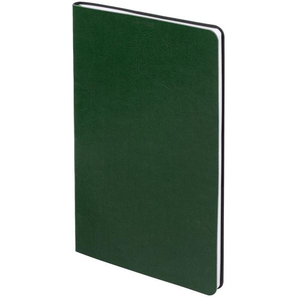 Блокнот нелинованный Контекст Blank А5, зеленый - фото № 1