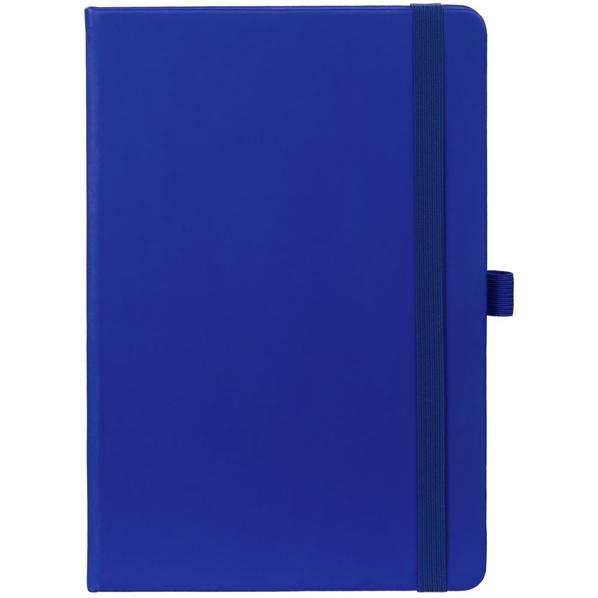Блокнот с антибактериальным покрытием Buffer А5, синий - фото № 1