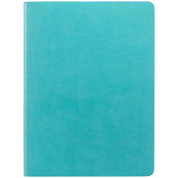 Блокнот в клетку Контекст Verso А5, бирюзовый - фото № 1