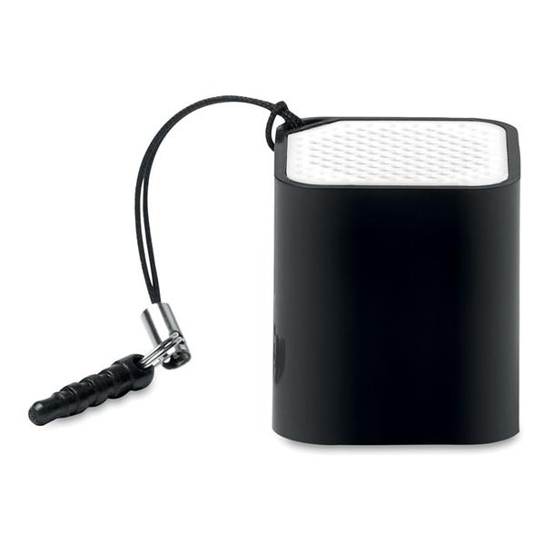 Колонка Bluetooth с микрофоном, черная - фото № 1