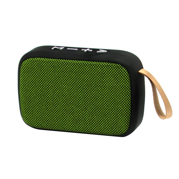 Bluetooth-колонка беспроводная Charge G2, зеленая - фото № 1