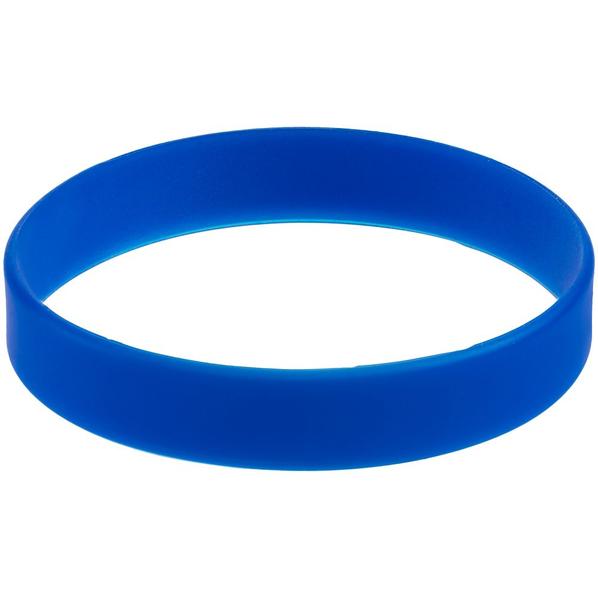 Браслет силиконовый Valley, синий - фото № 1