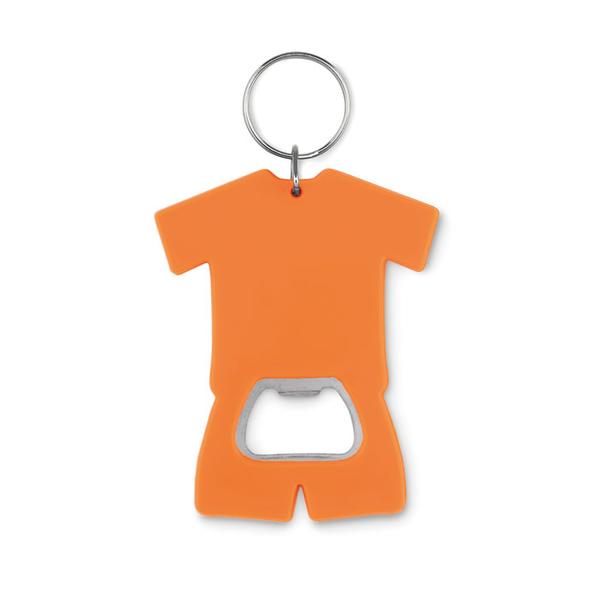 Брелок-открывалка, оранжевый - фото № 1