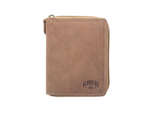 Бумажник Klondike 1896 Dylan натуральная кожа, коричневый - фото № 1