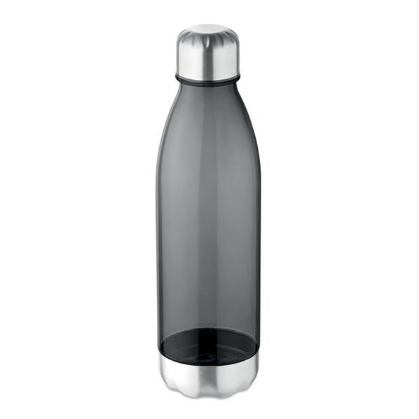 Бутылка для питья 600мл, прозрачный черный - фото № 1