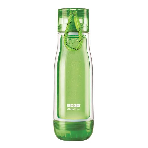 Бутылка для воды 475 мл Zoku, зеленая - фото № 1