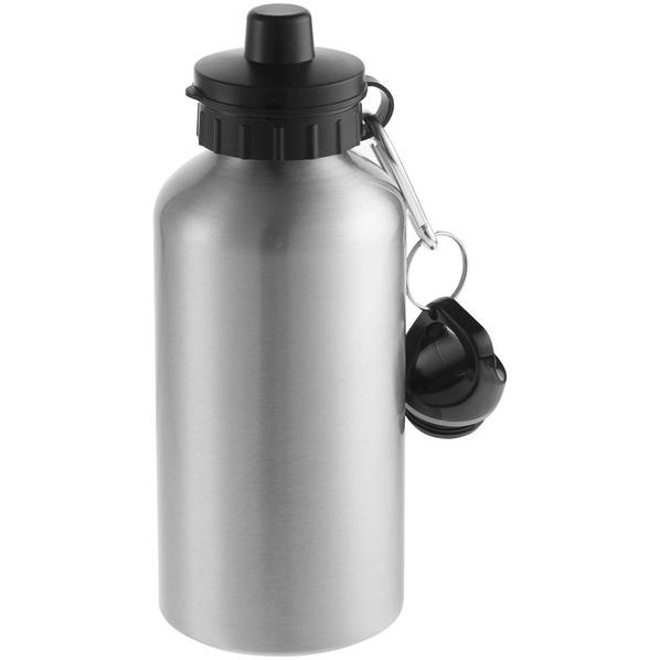 Бутылка для воды алюминиевая Re-Source Sublime, 500 мл, серебристая - фото № 1