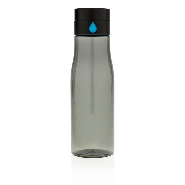 Бутылка из тритана XD Design Aqua 650мл, прозрачный черный - фото № 1