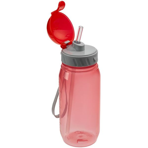 Бутылка для воды Aquarius, красная - фото № 1