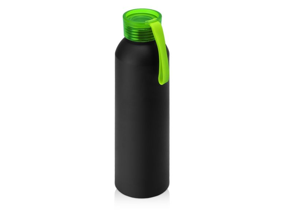 Бутылка для воды Joli, 650 мл, черная / зеленая - фото № 1
