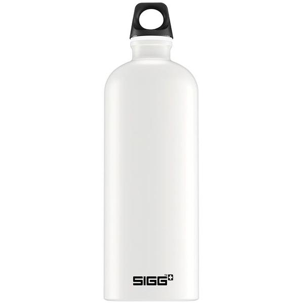 Бутылка для воды Sigg Traveller 1000, белая - фото № 1