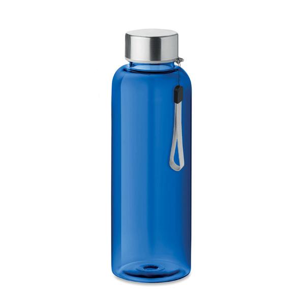 Бутылка полупрозрачная 500 мл, синяя - фото № 1