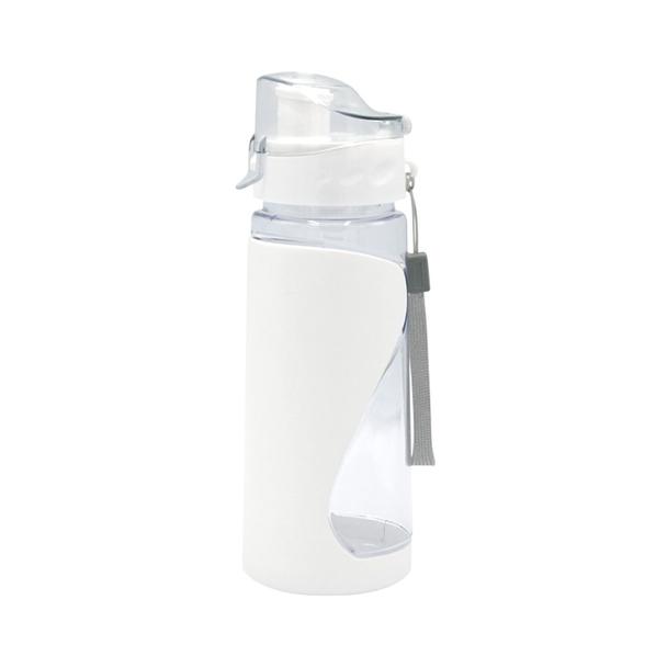 Бутылка для воды спортивная «Атлетик», белая - фото № 1