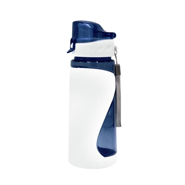 Бутылка для воды спортивная «Атлетик», синяя - фото № 1