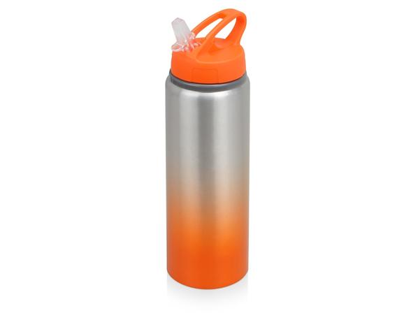 Бутылка спортивная Gradient 740мл, оранжевый - фото № 1