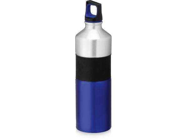 Бутылка дорожная Nassau 750мл, серый/синий - фото № 1