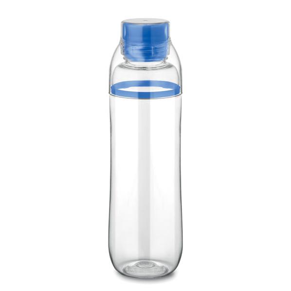 Бутылка, 700 мл, синяя / прозрачная - фото № 1