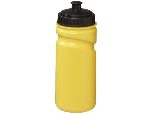 Бутылка спортивная Easy Squeezy, черная / желтая - фото № 1
