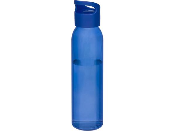 Бутылка спортивная стеклянная Sky, 500 мл, синяя - фото № 1