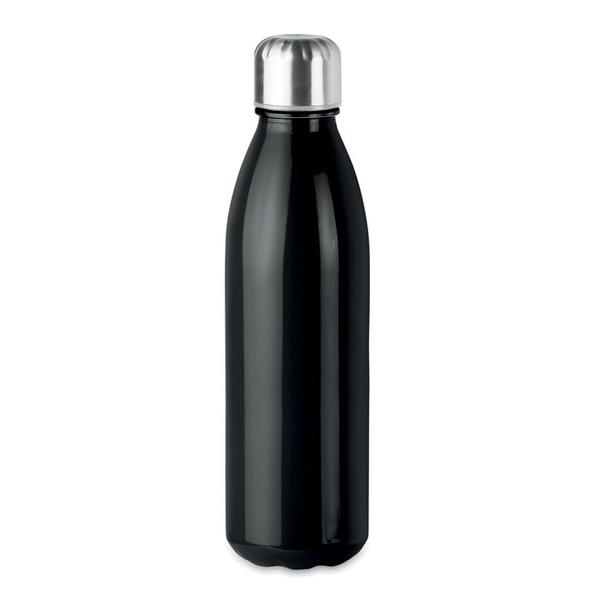 Бутылка стеклянная, чёрная, 500 мл - фото № 1