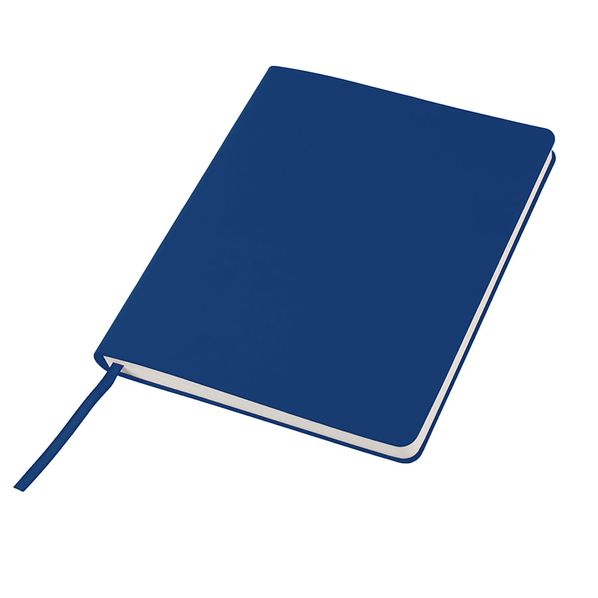 Бизнес блокнот в линейку thINKme Cubi А5-, 256 стр., синий - фото № 1