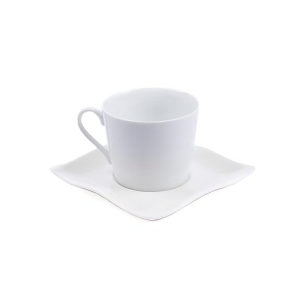 Чайная пара Banquet Durable, белая - фото № 1