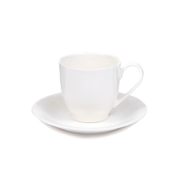Чайная пара «Марта», белая - фото № 1
