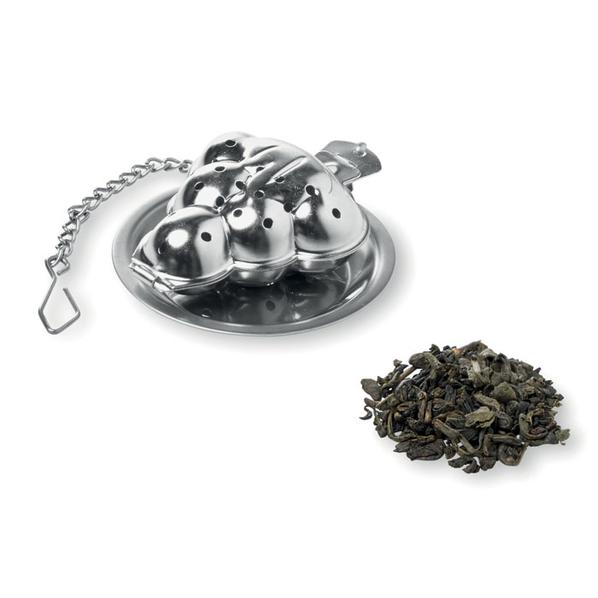 Чайный фильтр в виде елочки Treefilter, серебристый - фото № 1