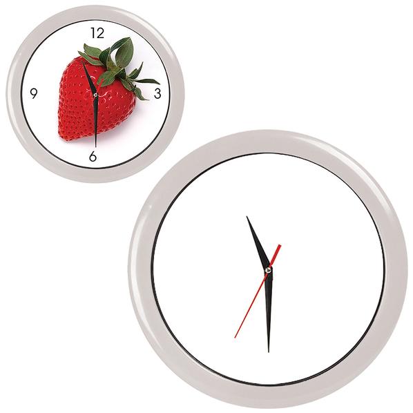 Часы настенные ПРОМО разборные, белый, белый - фото № 1