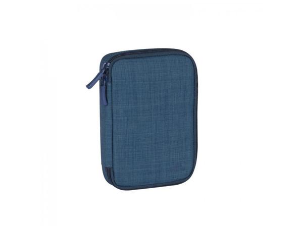 Чехол Rivacase для хранения аксессуаров, синий - фото № 1