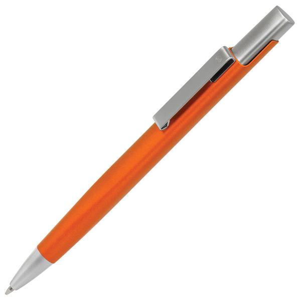 Ручка шариковая металлическая B1 Codex, оранжевая - фото № 1