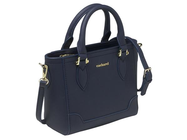 Дамская сумочка Victoire Navy, тёмно-синяя - фото № 1