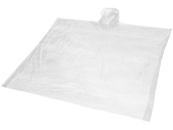 Дождевик в чехле из биопластика Mays, белый - фото № 1
