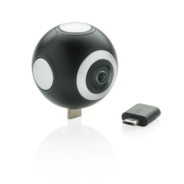 Камера с 2 объективами, XD Collection 360, черная - фото № 1