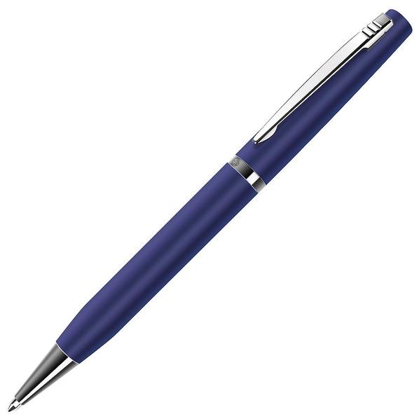 Ручка шариковая металлическая B1 Elite, синяя / хром - фото № 1