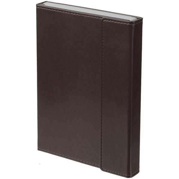 Ежедневник недатированный Flap, коричневый - фото № 1
