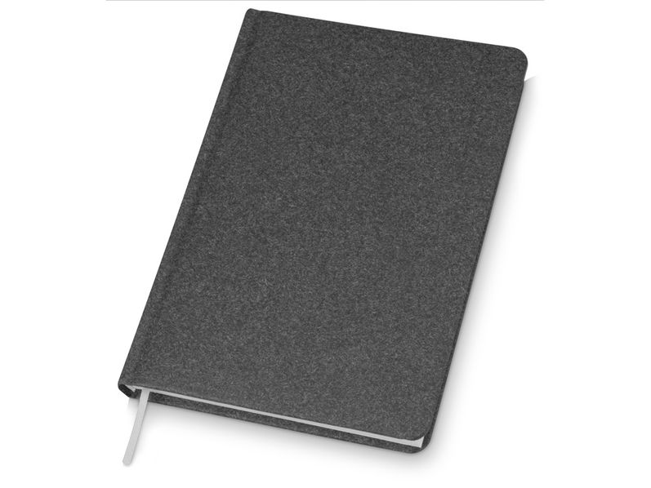 Ежедневник недатированный Lettertone Raw AR А5, графит - фото № 1