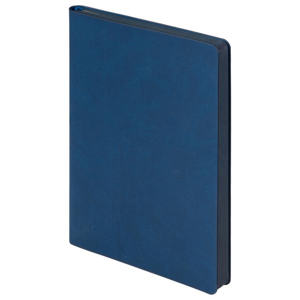 Ежедневник недатированный Portobello Trend Latte, soft touch, синий - фото № 1