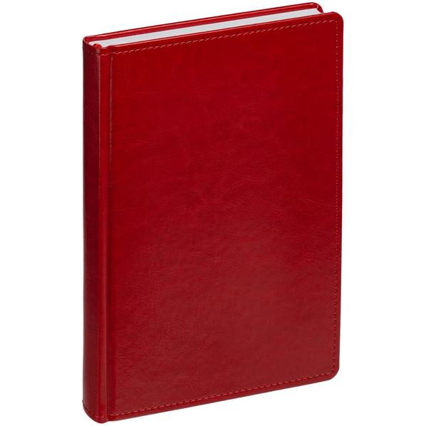 Ежедневник датированный Адъютант New Nebraska, красный - фото № 1