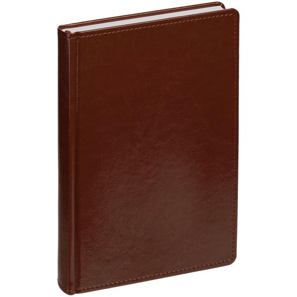 Ежедневник датированный Адъютант New Nebraska, коричневый - фото № 1