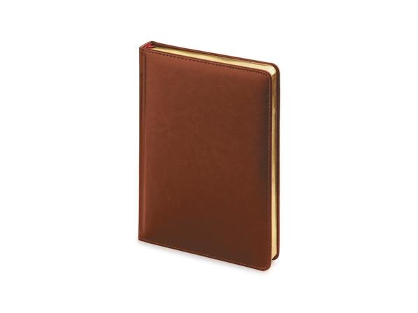 Ежедневник датированный Альт Sidney Nebraska А5, коричневый - фото № 1