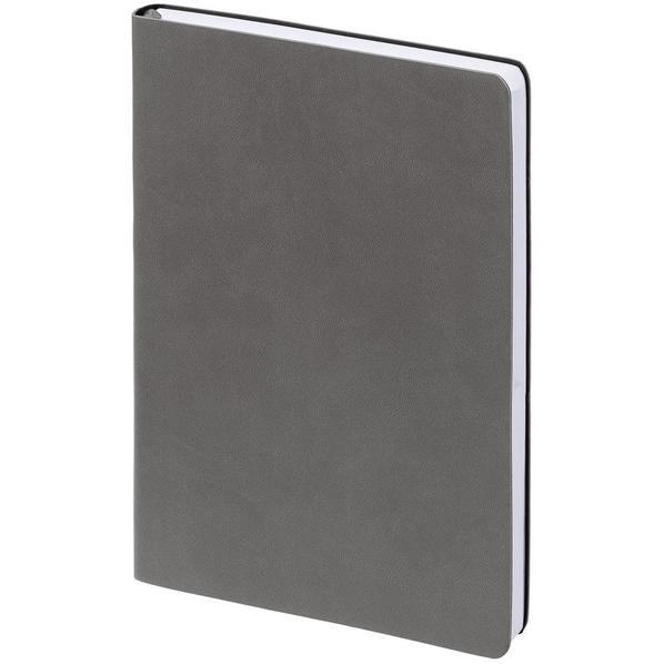 Ежедневник недатированный Inspire Romano А5, темно-серый - фото № 1